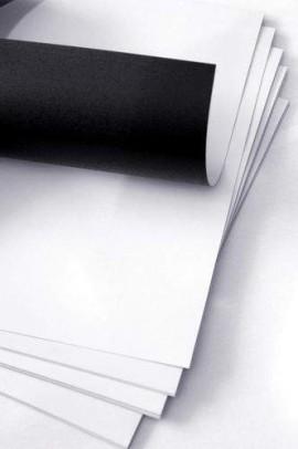 491. Nyomtatható mágnesfólia A4 (FÉNYES felülettel) - mágnespapír A4 helyet