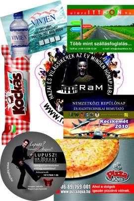 80.9.2. Reklám hűtőmágnes (210x297mm) - (szabvány A/4)