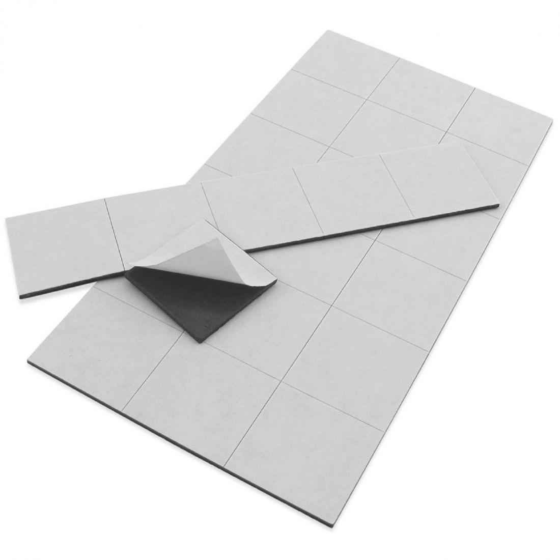 47.1 Öntapadó mágnesfólia (vágott) - 60x30mm